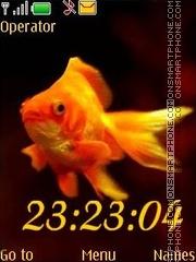 Goldfish tema screenshot