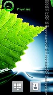 Leaf 03 theme screenshot