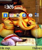 Скриншот темы Lord ganesh 03