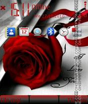Love rose 03 es el tema de pantalla