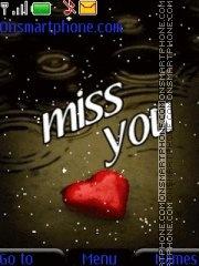 Miss You 07 theme screenshot