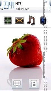Скриншот темы Strawberry 08