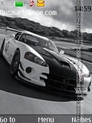 Dodge Viper SRT10 theme screenshot