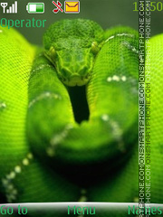 Serpent es el tema de pantalla