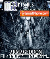 Armageddon theme screenshot