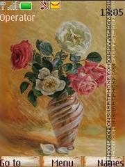 Art roses theme screenshot