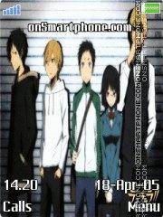 Drrr[Anime] tema screenshot