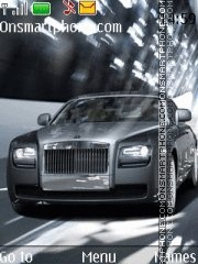 Rolls Royce Ghost theme screenshot