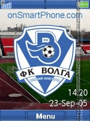Скриншот темы FC Volga NN Yari