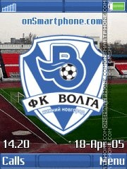 Скриншот темы FC Volga NN K850