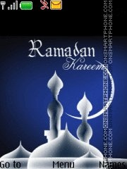 Capture d'écran Ramadan 07 thème