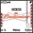 Budweiser theme screenshot