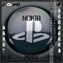 Playstation theme screenshot
