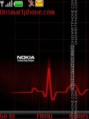 Nokia Red 03 theme screenshot