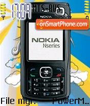 N70 Nseries theme screenshot