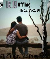 Cute Couple 03 es el tema de pantalla