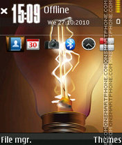 Light 12 theme screenshot