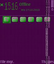 Скриншот темы Mitica