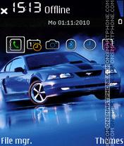 Скриншот темы Mustang 22