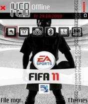 Скриншот темы Fifa-2011