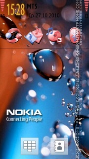 3d Nokia 02 theme screenshot