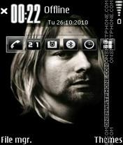 Скриншот темы Kurt Cobain 05