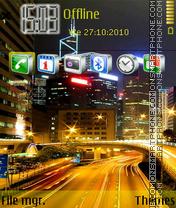 Скриншот темы City traffic