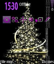 Xmas Tree 04 theme screenshot