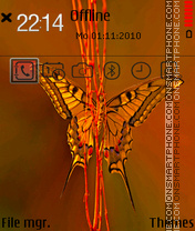 Butterfly 21 theme screenshot