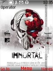 Immortal theme screenshot