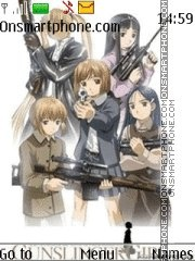 Gunslinger Girl theme screenshot
