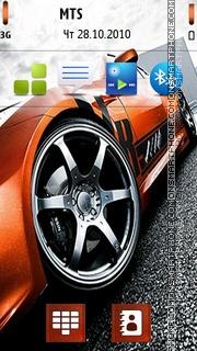 Nice Car 08 theme screenshot