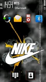 Скриншот темы Nike 21