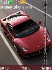 Ferrari 458 Italia Theme-Screenshot