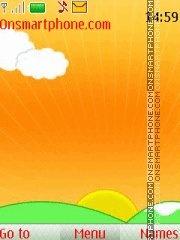 Orange New Icons theme screenshot
