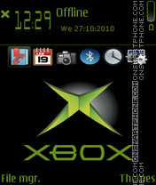 XBox 364 theme screenshot