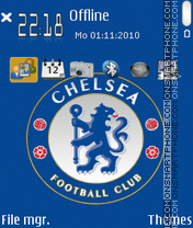 Chelsea 2014 theme screenshot