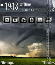 Tornado 02 theme screenshot
