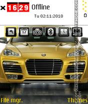 Porsche Magnum theme screenshot