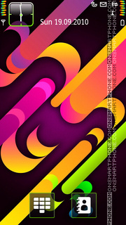 Colorful 08 theme screenshot