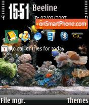 Acquario V2 3250 theme screenshot