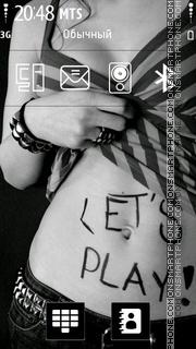 Скриншот темы Lets Play 01