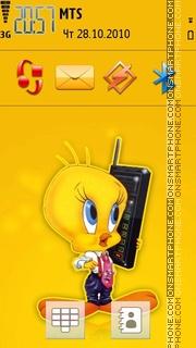 Tweety Bird 02 theme screenshot