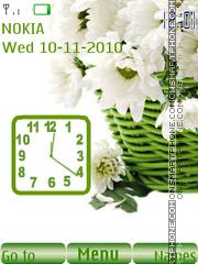 Chrysanthemums es el tema de pantalla