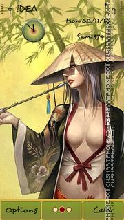 Sexy Girl s^3 theme screenshot