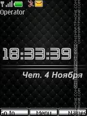 Black exclusive theme screenshot