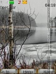 Скриншот темы Soon winter swf