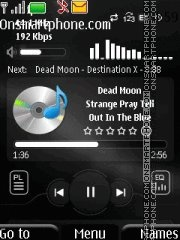 Power Mp3 theme screenshot