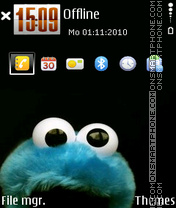 Скриншот темы Monster 02