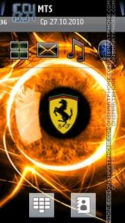 Ferrari Logo 2012 theme screenshot